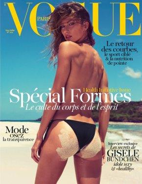 Gisele Bündchen a Vogue Paris címlapján