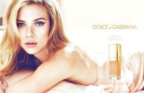 "Scarlett Johansson's New Dolce&Gabbana ""Perfectly Luminous"" Campaign"