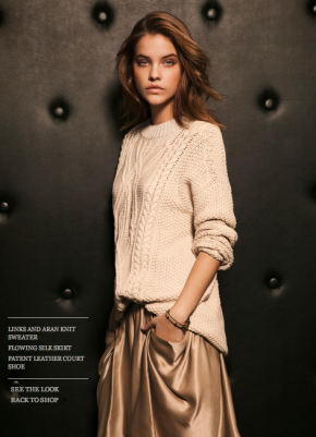 Massimo Dutti Lookbook With The Hungarian Beauty, Barbara Palvin