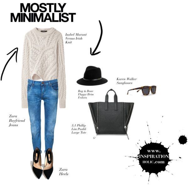 Mostly Minimalist - My Idealistic Work Outfit