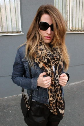 Leather - Denim - Ocelot